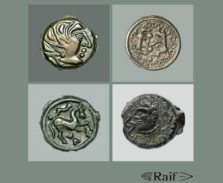 Monnaies gauloises en bronze d'Île-de-France