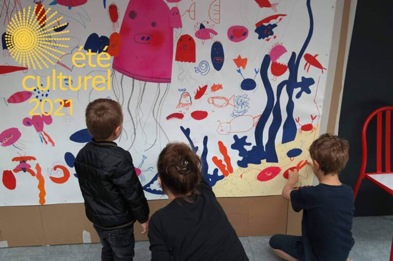 """été culturel 2021 - """"Partir en livres"""", tout l'été, avec le Centre de créations pour l'enfance"""