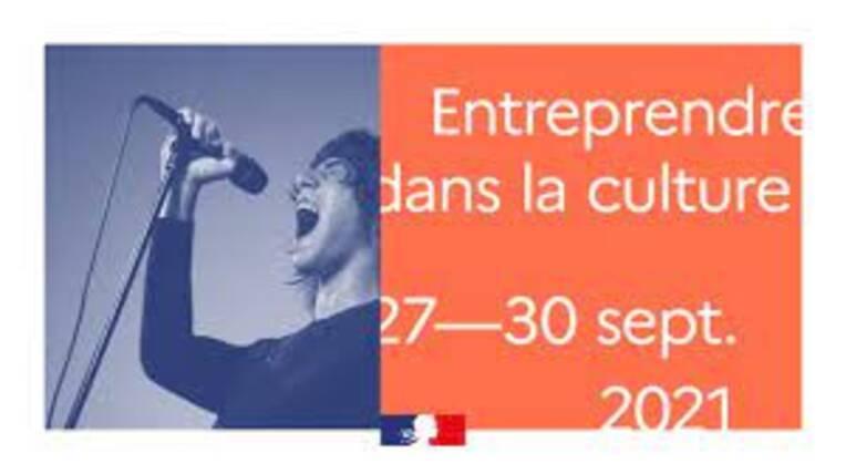 Forum entreprendre pour la culture c'est du 27 au 30 septembre