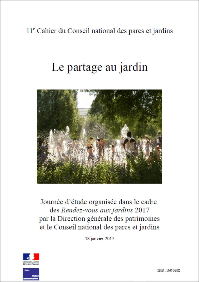 Actes RdvJardins 2017 - Le partage au jardin
