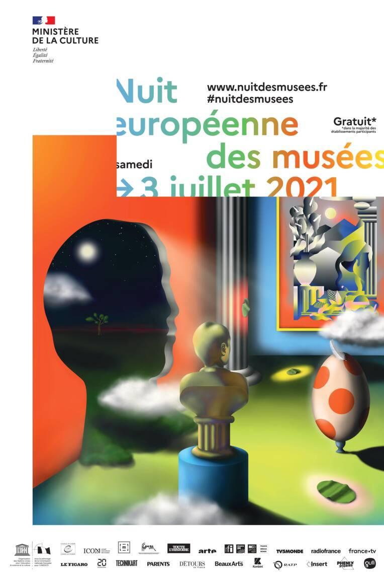 La Nuit européenne des musées le 3 juillet 2021 en Nouvelle-Aquitaine