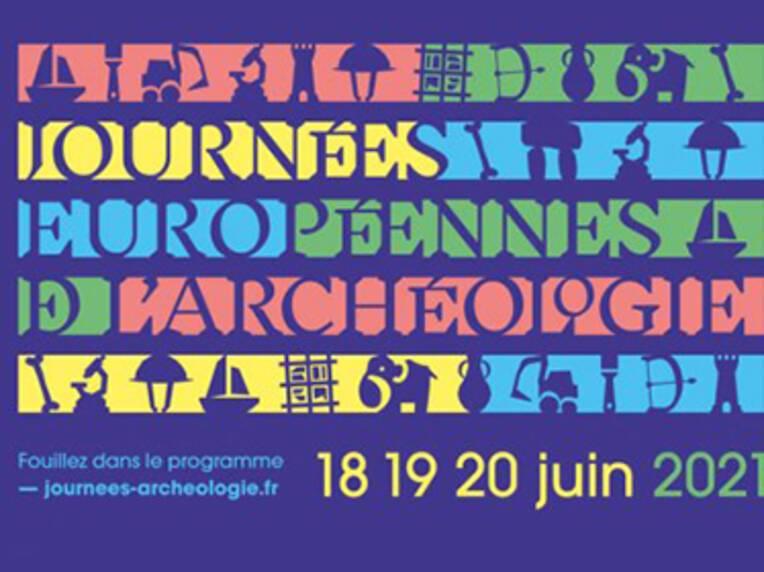Journées européennes de l'archéologie en Nouvelle-Aquitaine 2021