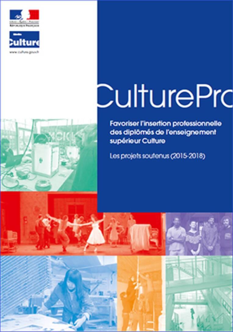 Couverture de la brochure CulturePro