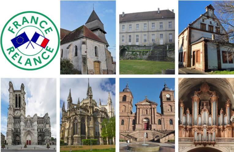 Le plan de relance en faveur du patrimoine dans le Grand Est