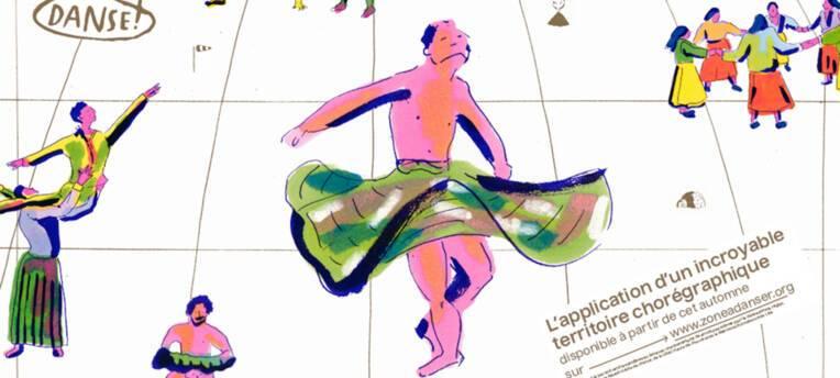 Danse!: l'application répertoriant les spectacles dans les Hauts de France