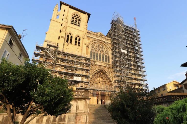 Restauration de l'église Saint-Maurice à Vienne en Isère