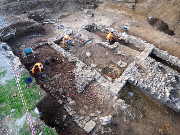 Découverte du premier site antique mis au jour sur la commune de Bastia