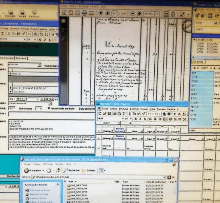 Visuel du vademecum sur les archives électroniques, mini-site Musées, culture.gouv.fr (c) Archives en musées
