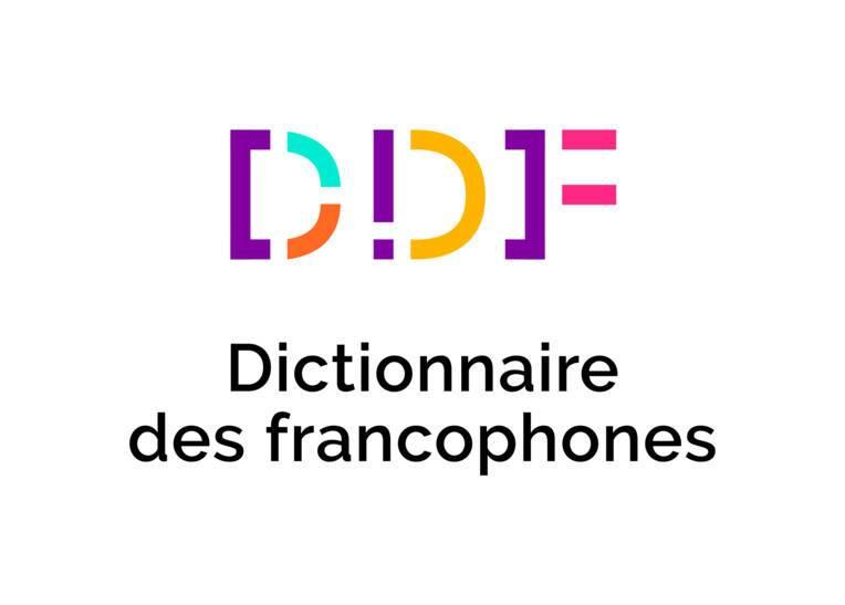 Logo du Dictionnaire des francophones.