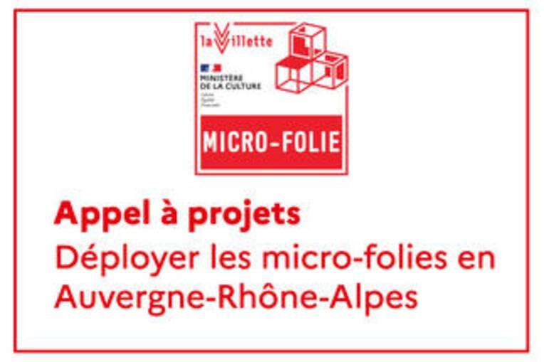Appel à projet régional : déploiement des micro-folies en Auvergne-Rhône-Alpes, liste des lauréats