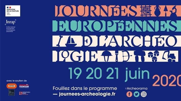 Les Journées européennes de l'archéologie (JEA) 2020 #Archeorama