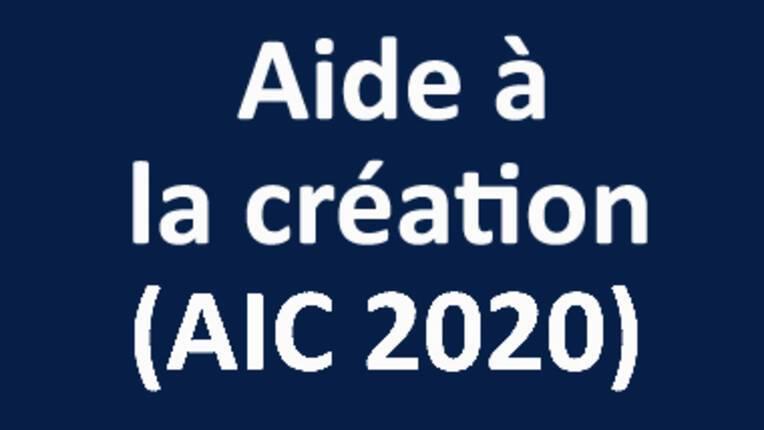 Aide à la création (AIC) 2020