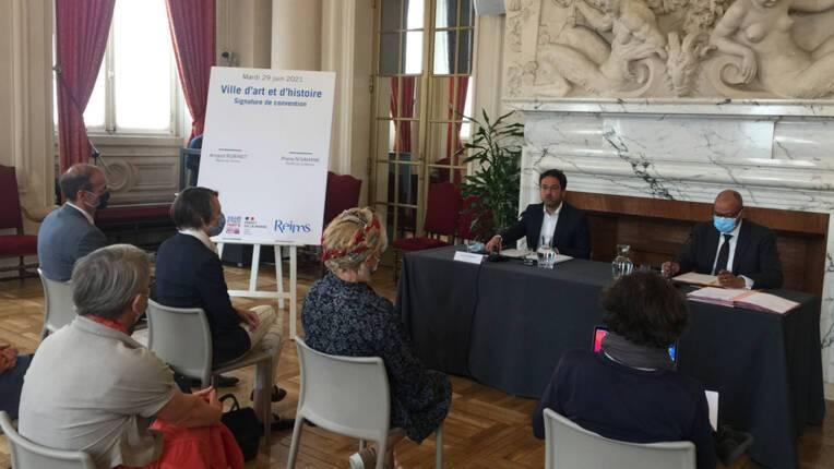 """Reims : renouvellement du label """"Ville et pays d'art et d'histoire"""""""