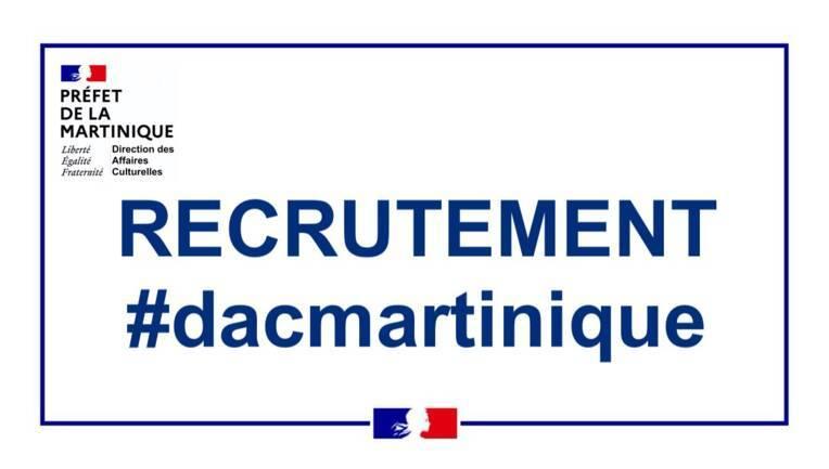 Avis de vacance : 2021-709165 ATTADM - Chargé de communication et de l'entreprenariat culturel - DAC Martinique - H/F