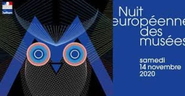 14 novembre - une Nuit des musées numérique -#NuitDesMuséesChezNous