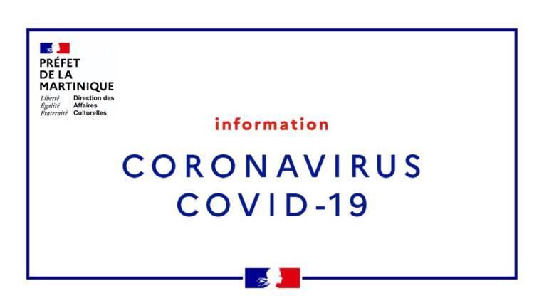 Action du ministère de la Culture / DAC de la Martinique en faveur des secteurs culturels dans le cadre de la crise sanitaire du COVID-19
