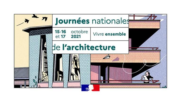 Inscriptions aux journées nationales de l'architecture 2021 en Normandie