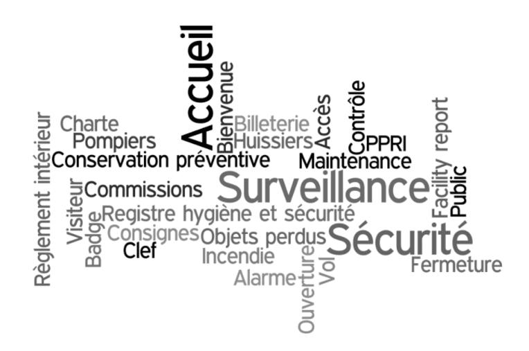 Visuel de la fiche pratique sur les archives de l'accueil, de la sécurité et la sûreté dans un musée de France, mini-site Musées, culture.gouv.fr (c) Archives en musées