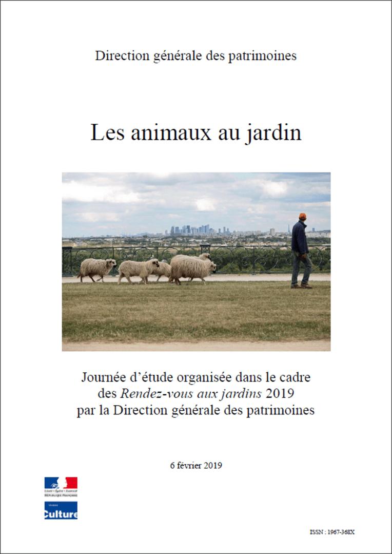 Actes RdvJardins 2019 - Les animaux au jardin