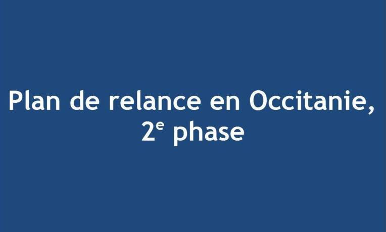 Plan de relance en Occitanie, 2e phase
