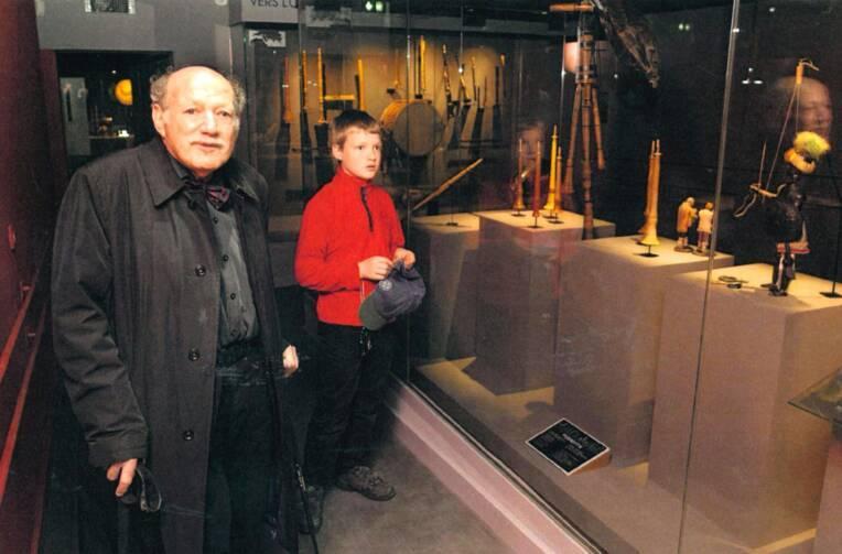 Disparition d'un grand collectionneur d'instruments de musique, Heinz Stephan Herzka