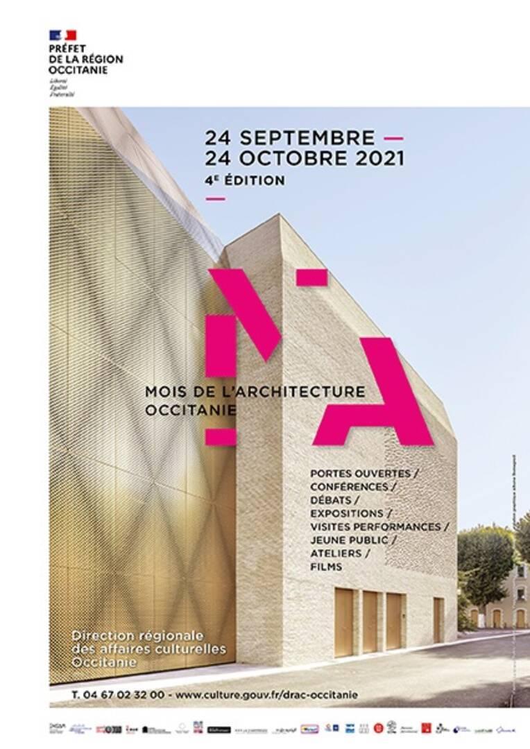 Lancement du Mois de l'architecture samedi 25 septembre au nouveau CRR de Montpellier