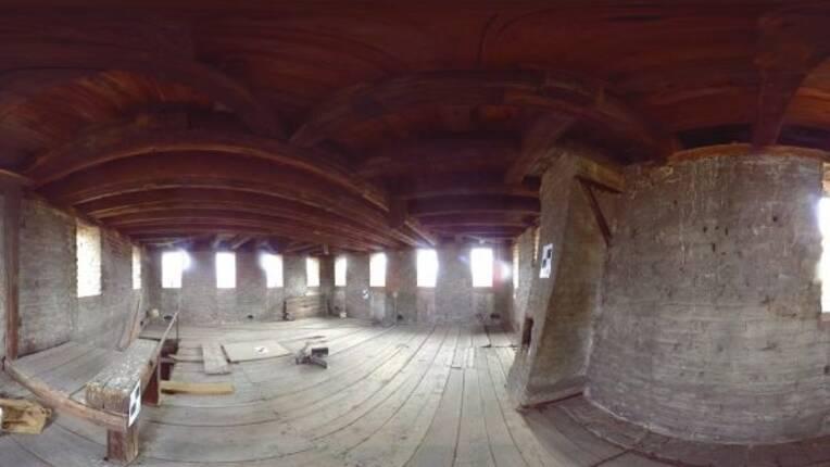 Visite virtuelle de la Tour Heinrich des Ponts-Couverts de Strasbourg