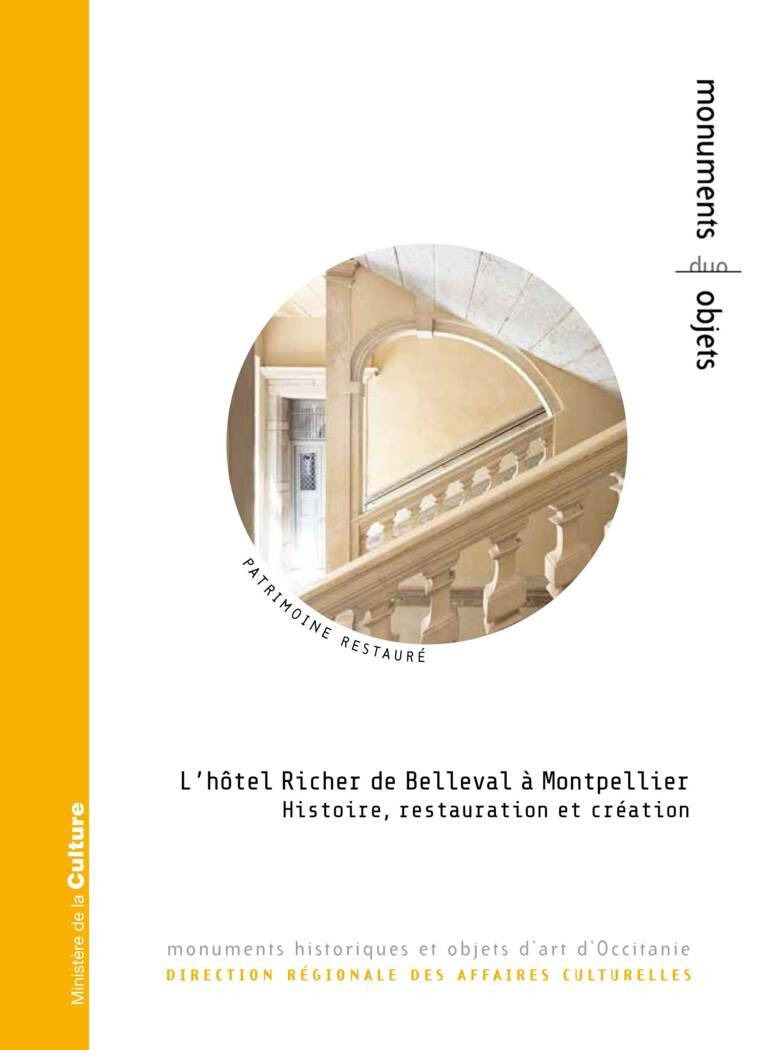 L'Hôtel Richer de Belleval à Montpellier - nouveau titre de la collection DUO