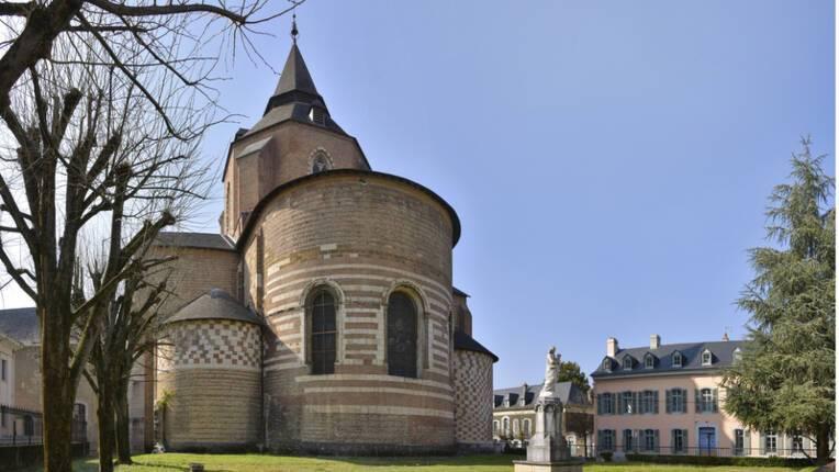 Chevet cathédrale de Tarbes