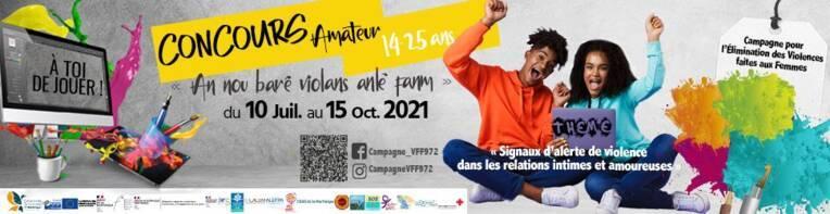 Concours - Campagne d'élimination des violences faites aux femmes 2021