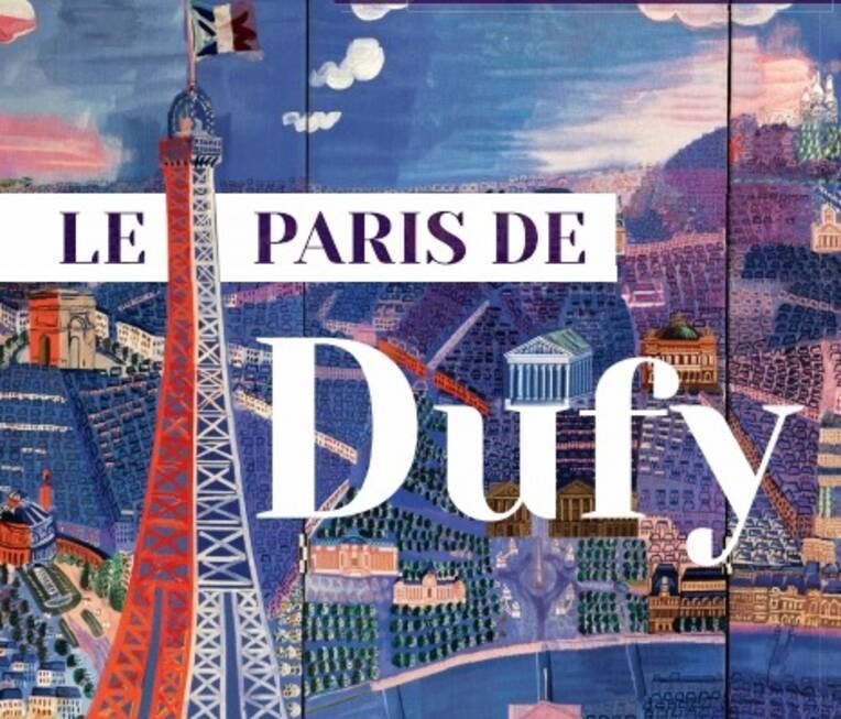 """""""Le Paris de Dufy"""" vu d'en haut"""