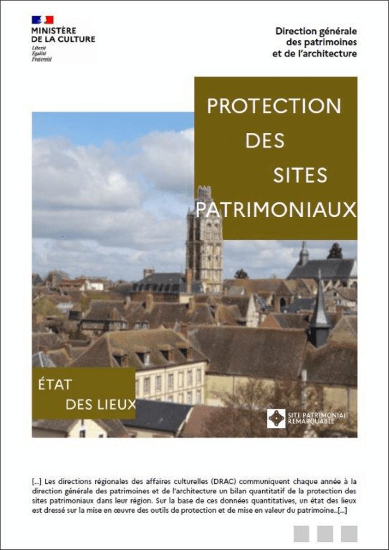 Protection des sites patrimoniaux - État des lieux