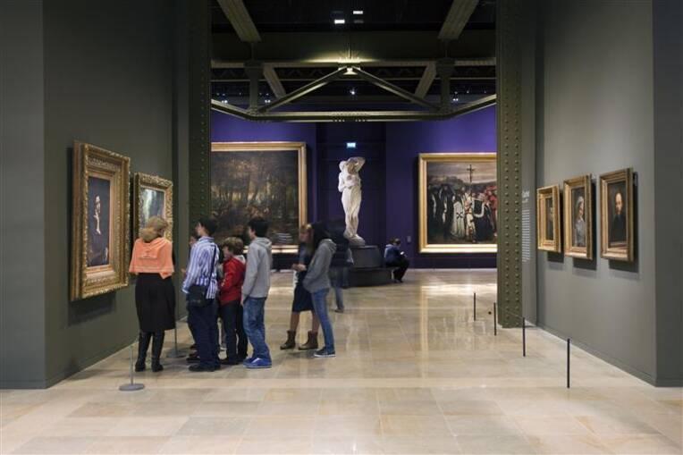 Paris, musée d'Orsay, peintures, Rez-de-chaussée, Seine. Salles 4 à 23, Photo (C) Musée d'Orsay, Dist. RMN-Grand Palais / Sophie Crépy