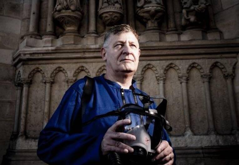 Stéphane Deschamps, l'archéologue qui explorait le passé de Notre-Dame