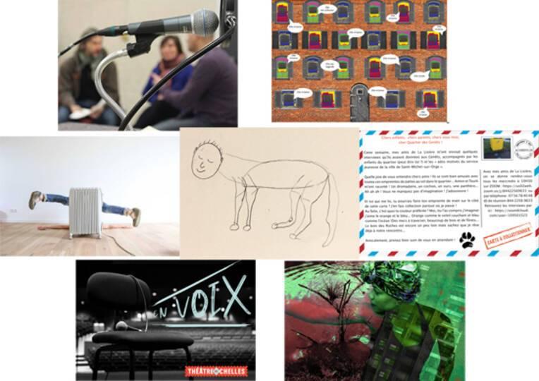 Focus sur 7 initiatives artistiques franciliennes menées depuis le confinement
