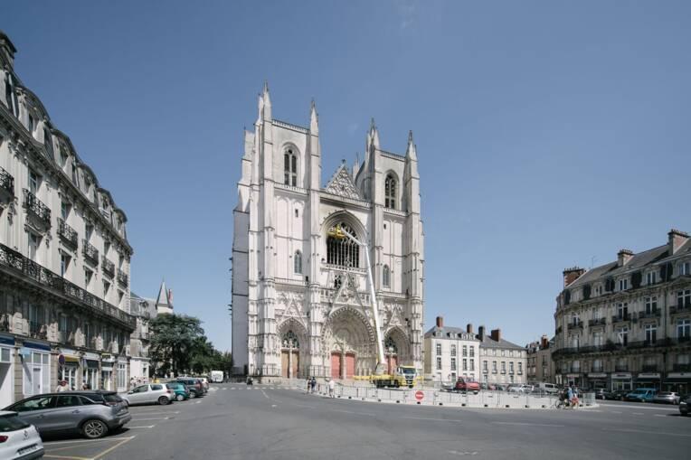 La cathédrale de Nantes soutenue par le plan de relance