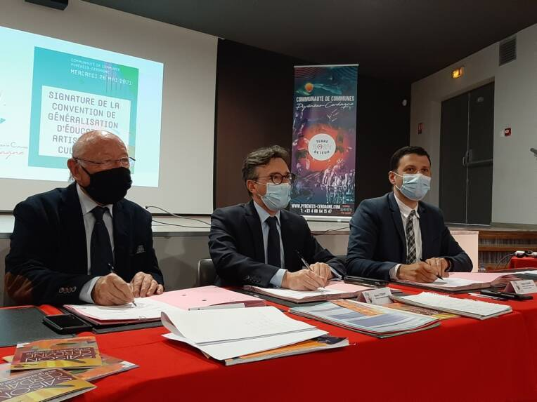 Renouvellement de la convention Éducation artistique et culturelle avec la Communauté de communes Pyrénées-Cerdagne