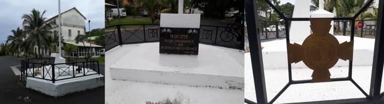 Monument aux morts de Dzaoudzi - Numérisation 3D