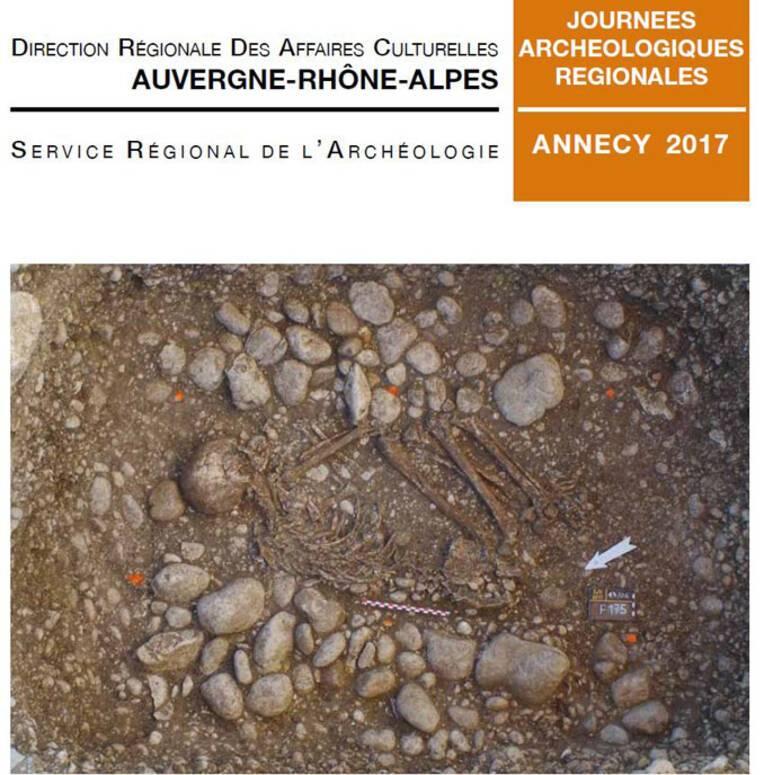 """Ain, Saint-Jean-le-Vieux, Les fouilles récentes aux """"Collombières"""""""