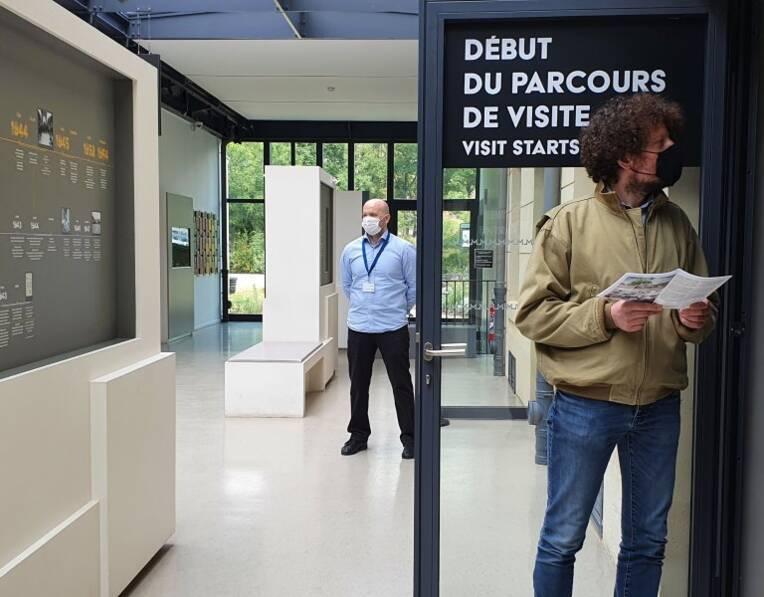 Les mesures sanitaires dans les musées de la Ville de Paris / Source : Paris musées