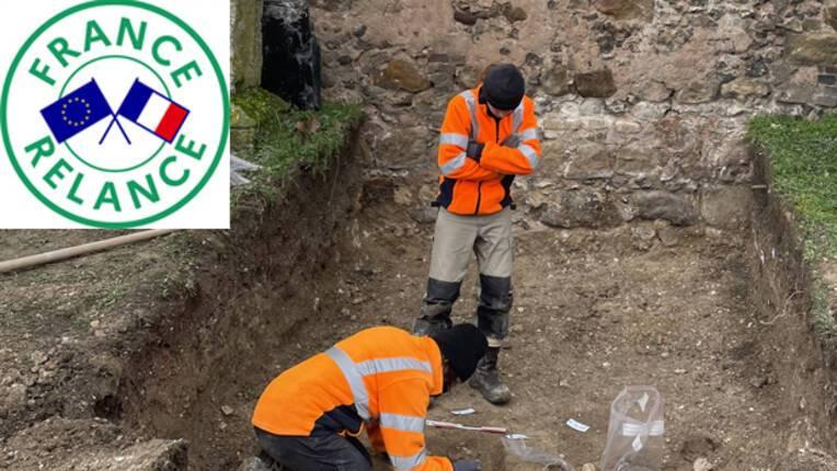 Archéologie : une zone d'inhumation réservée aux enfants découverte en amont des travaux de restauration de l'église d'Aix-Villemaur-Pâlis