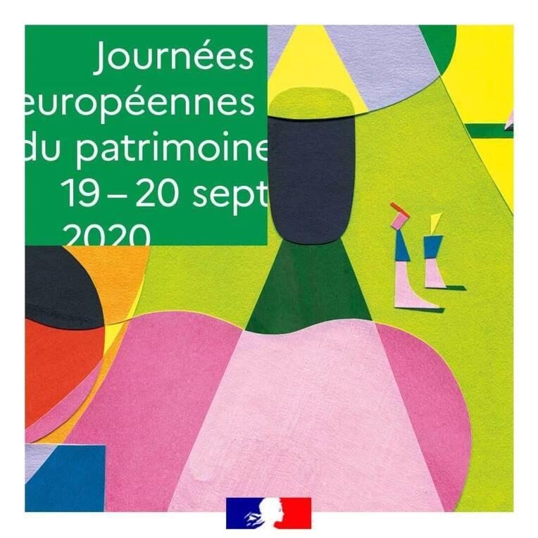 """La 37e édition des Journées européennes du patrimoine, les 19 et 20 septembre 2020, un moment de cohésion nationale, autour du thème """"Patrimoine et..."""