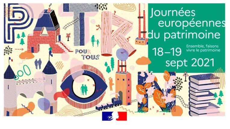 Journées européennes du patrimoine édition 2021 : comment participer