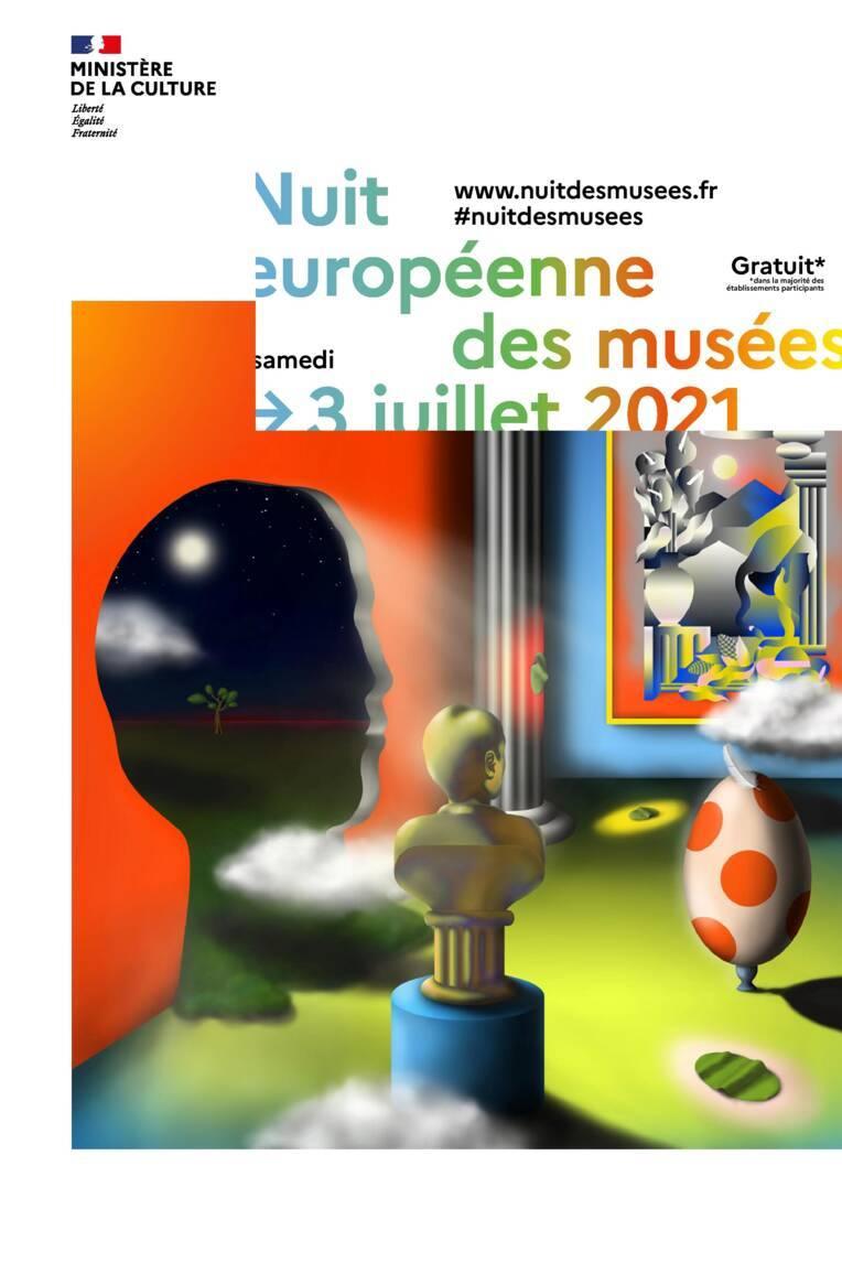 Nuit européenne des musées 2021 - Communiqué de presse