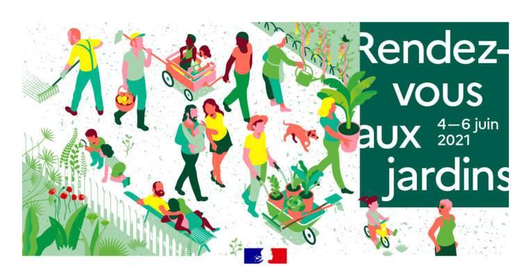 Rendez-vous aux jardins en Occitanie, 4 - 6 juin 2021