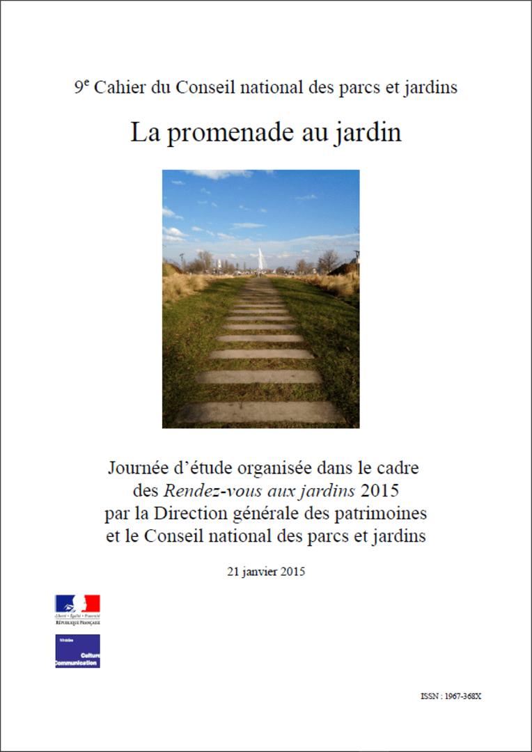Actes RdvJardins 2015 - La promenade au jardin