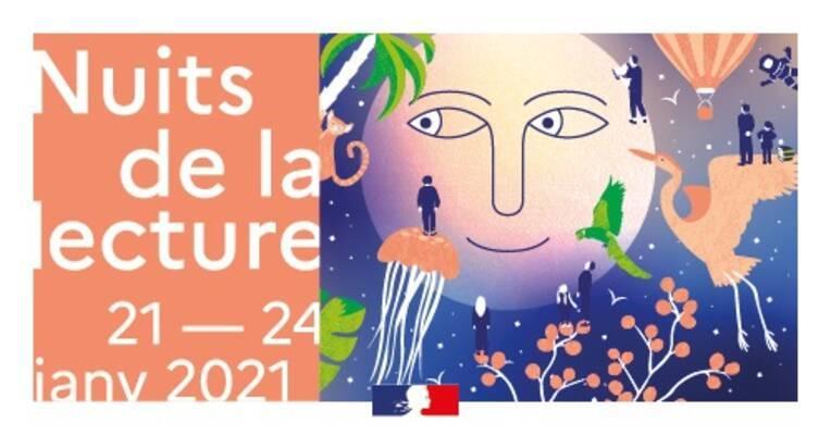 """""""Nuits de la lecture 2021"""" : le programme Grand Est est en ligne"""