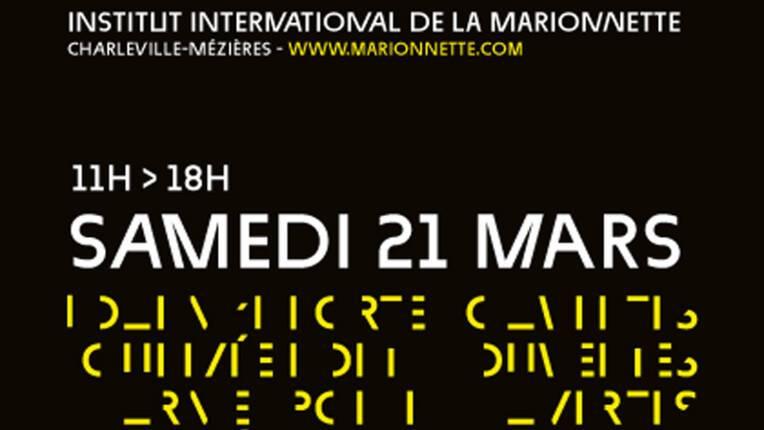 Journée portes ouvertes de l'Institut international de la marionnette