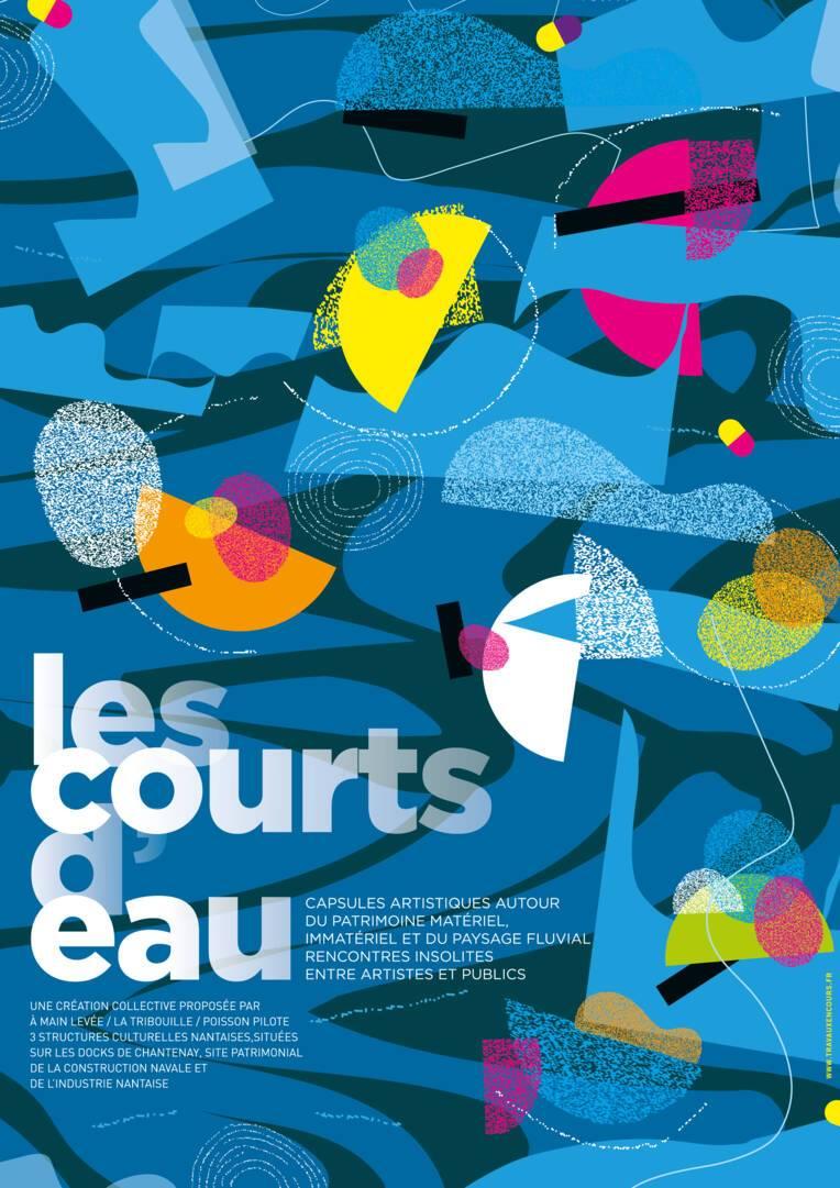 Eté culturel 2021 : les courts d'eau, capsules artistiques insolites des bords de Loire.