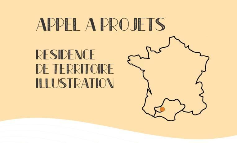 """Résidence de territoire """"Illustration"""", dans les Bastides de Lomagne (Gers)"""